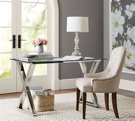 pottery barn white desk ava desk pottery barn