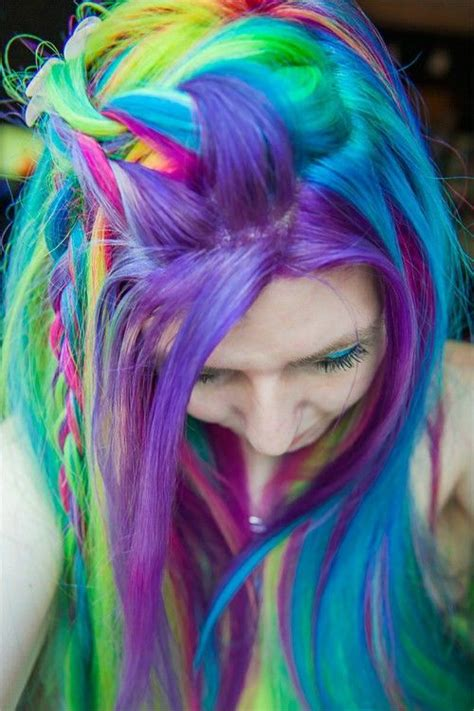 with colorful hair rainbow hair pictures photos and images for