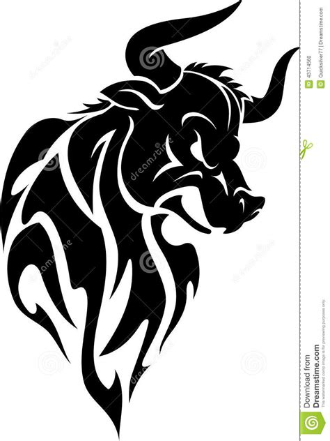 tribal bull tattoo designs 25 tribal animal designs