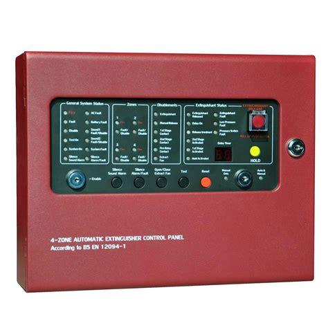 Panel Gas alarm and gas extinguishment panel cm1004 vedard