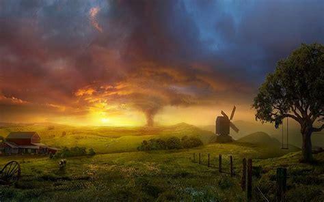 piccolo paese delizioso   affascinante paesaggio
