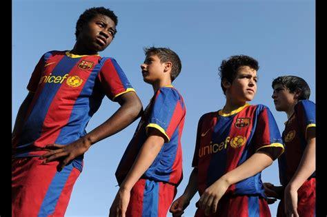 barcelona youth academy photos inside barcelona fc s la masia training center