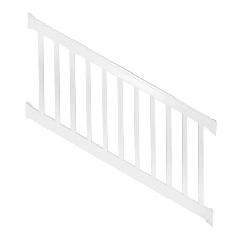 weatherables vanderbilt 3 5 ft x 96 in vinyl white stair