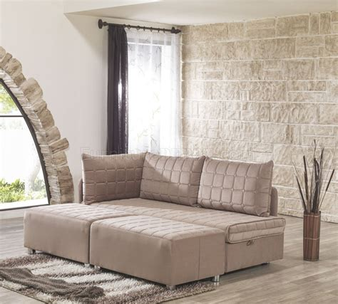day night sofa bed  cappuccino fabric  casamode