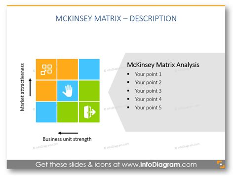 Product Portfolio With Mckinsey Matrix Design Exles Mckinsey Diagram