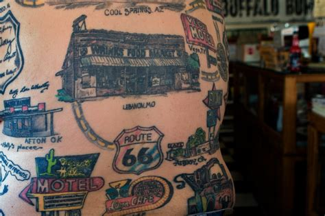 route 66 tattoo 98 tattoos all dedicated to route 66 with more to come