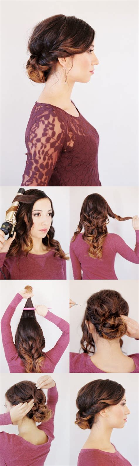 Twisted Updo Hairstyles by 20 Easy Hairstyle Tutorials For Your Everyday Look