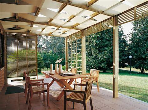 spazio wall mounted pergola by legnolandia