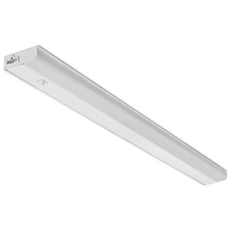 lithonia under cabinet lighting lithonia lighting ucel 36 in led white linkable under