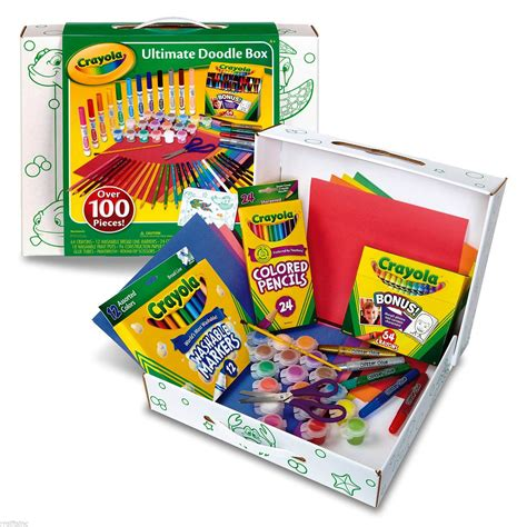 doodle drawing boxes crayola ultimate doodle box crafts drawing crayons