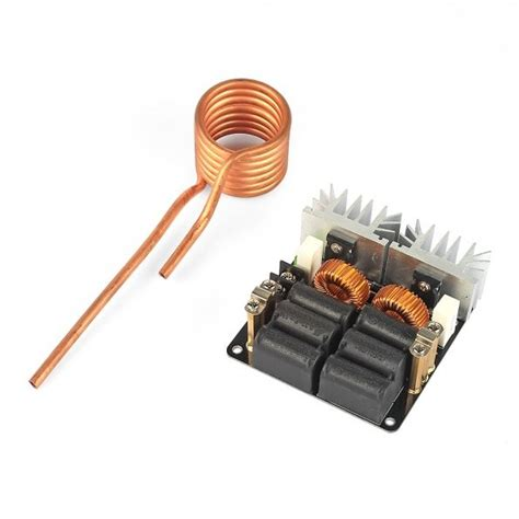 zvs induction heater sainsmart 1000w zvs low voltage induction heating board module tesla coil 12 48 3d printing