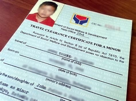 Parental Consent Letter Dswd traveling with minors how to get a dswd clearance and other faqs the poor traveler