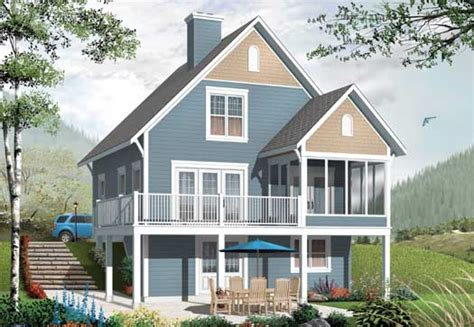2 story cottage house plans cottage style house plans 1356 square foot home 2