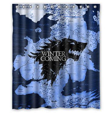 game of thrones shower curtain 1000 images about game of thrones house stark on pinterest