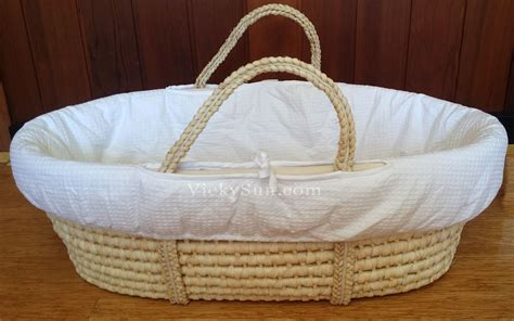 baby bassinet bedding baby moses basket bassinet white wooden to toe
