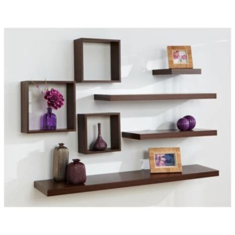 floating shelves ideas floating shelf arrangement cool homes pinterest i