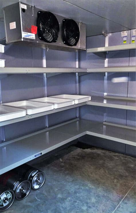 walk in cooler shelving walk in cooler shelving systems