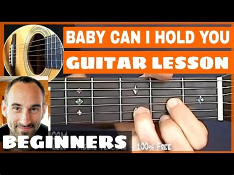baby shark guitar tutorial baby can i hold you guitar lesson part 1 of 4 youtube