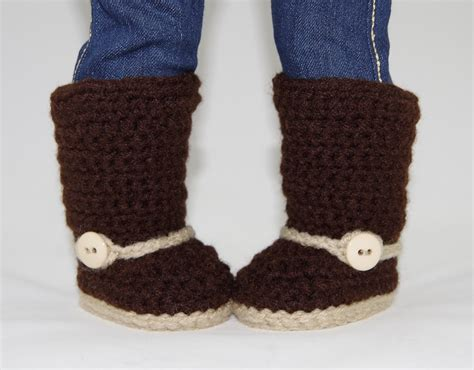 American Handmade Boots - western boots crochet pattern fits american
