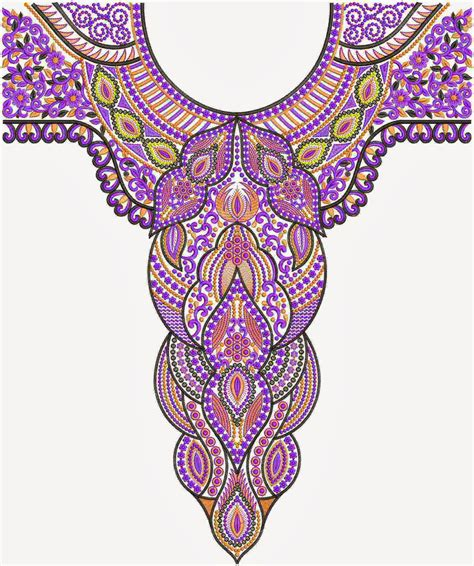 embroidery design for neck embdesigntube new arrival embroidery neck designs