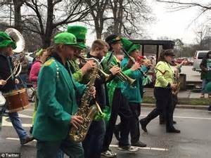 st s day parade raleigh painting the streets green cities across the country gear