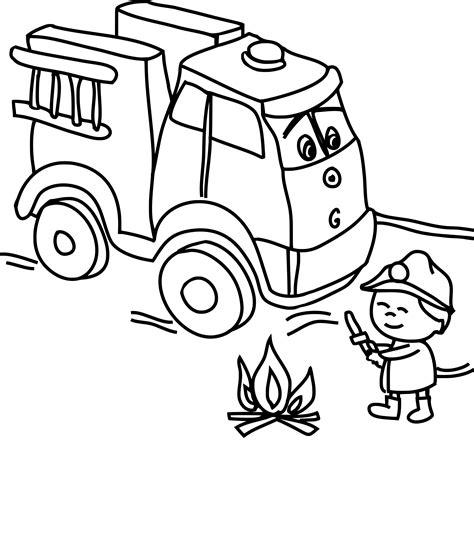 Coloriage Camion Pompier Dessin 224 Imprimer Sur Coloriages Dessin De Pompier A Imprimer L