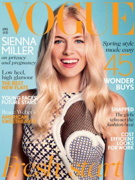 Miller Is Vogue Uks December Cover by Vogue Magazine With Miller Magazine