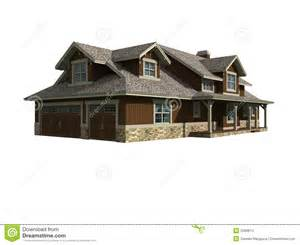 Home Builder Program 3d model of ranch home stock images image 2089814