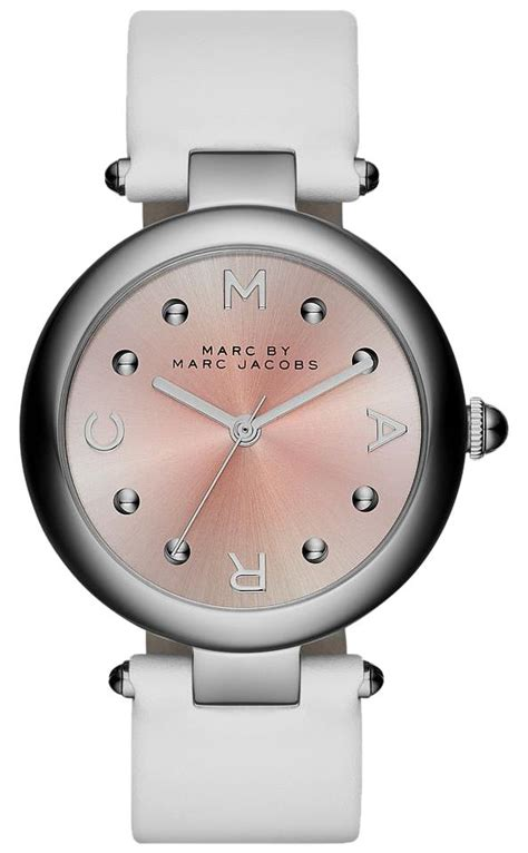 Mj Leather Pink marc by marc marc by marc mj1407 white pink