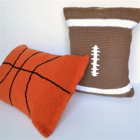 Crochet Football Pillow Pattern pillow crochet pattern football pillow by charactercrochet