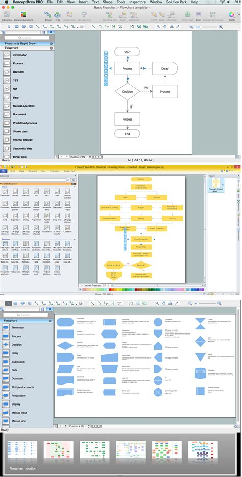 flow diagram software mac flow diagram software free trial for mac pc business