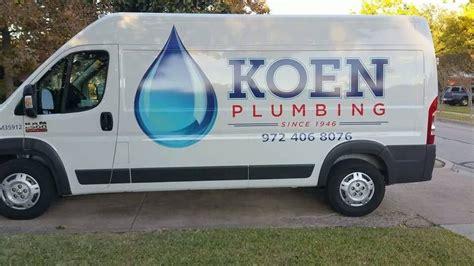 Plumbing Dallas Tx by Koen Plumbing Blikkenslagere 5526 Dyer St