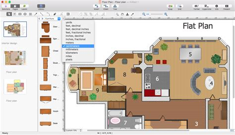 powerpoint presentation of a floor plan conceptdraw helpdesk