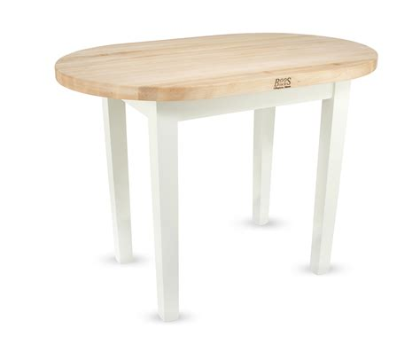 boos butcher block tables boos elliptical butcher block table c elip