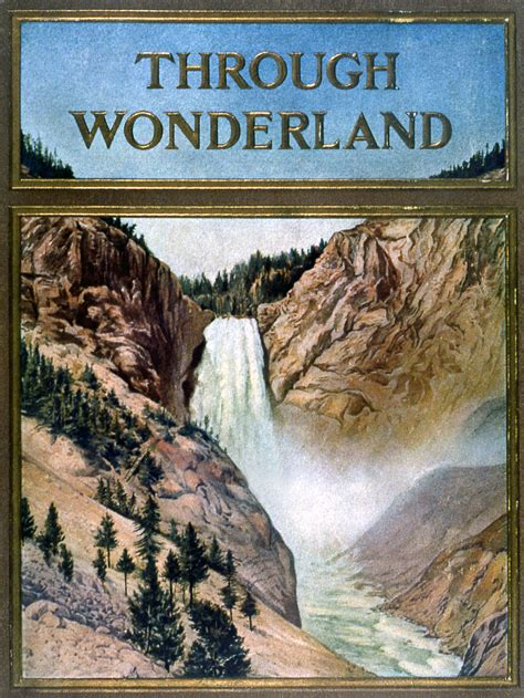 yellowstone history  brochures guides wyoming