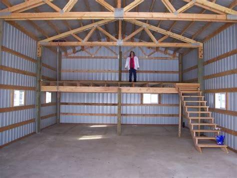 shop plans with loft 382476d1405119293 post photos your pole barn 100 0468 jpg