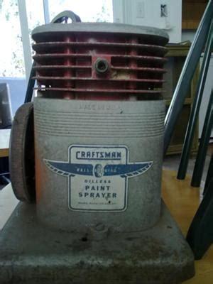 Craftman Oilless Sprayer Model 283 18580 Mfg No 350