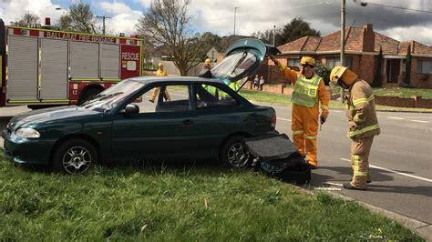 ballarat car crash injured in two car ballarat crash the courier
