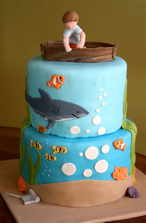 Birthday Cakes For Boys by Food Recipes The Sea Birthday Cake