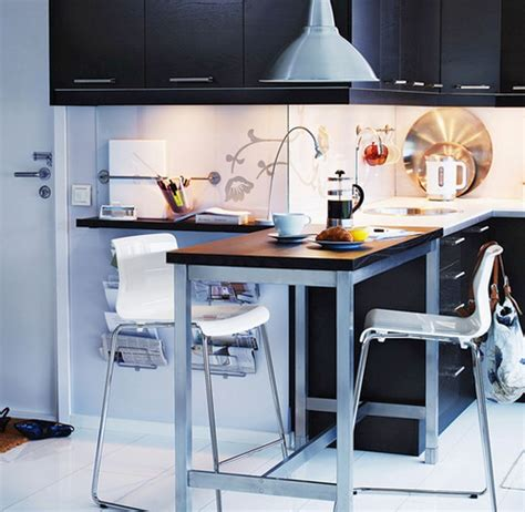 small kitchen spaces 20 minimalist modern kitchen tables for small spaces