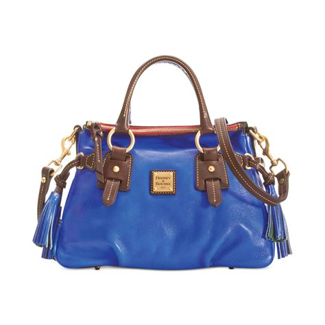 Dooney Bourke Ebelle5 Designer Dooney And Bourke Mini Handbag And Organizer Giveaway Ebelle5 Handbags Purses by Dooney Bourke Toledo Small Satchel In Blue Royal Blue