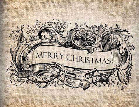 vintage merry christmas banner simply etta