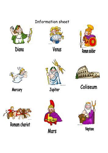 list of roman deities wikipedia the free encyclopedia roman gods by geminiwhizz teaching resources tes