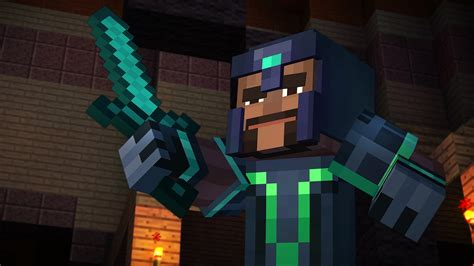 minecraft story mode minecraft story mode episode 1 pc review crafting a new canon usgamer