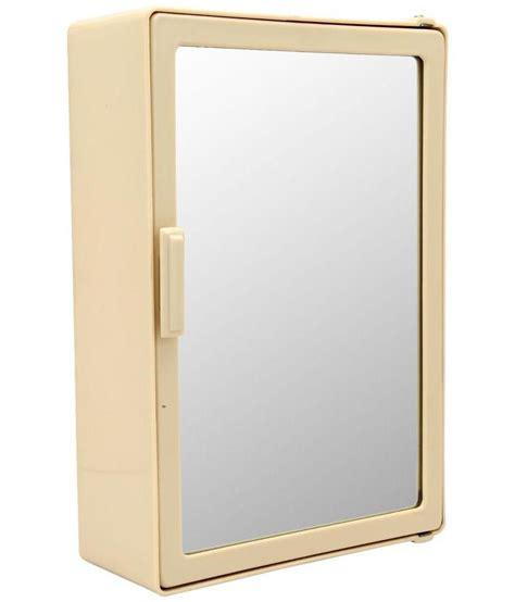 buy bathroom mirrors online india buy zahab beige bathroom mirror cabinet online at low