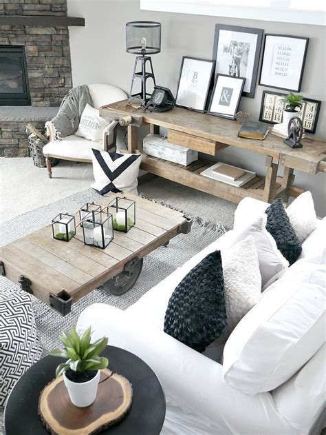 rustic modern home decor 25 best ideas about modern living rooms on pinterest modern living room decor white sofa
