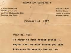 Rejection Letter Cadbury 8 Of The Funniest Rejection Letters From Cadbury Princeton Marvel Comics And More