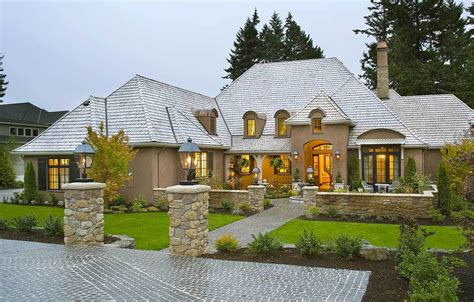 French Country Home Design | french country house plans architectural designs