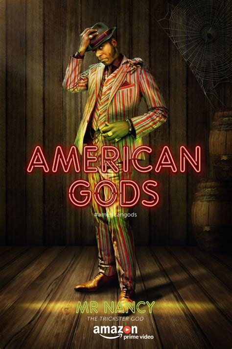 american gods tv tie in amazon co uk neil gaiman bryan fuller would love to do anansi boys spinoff for american gods