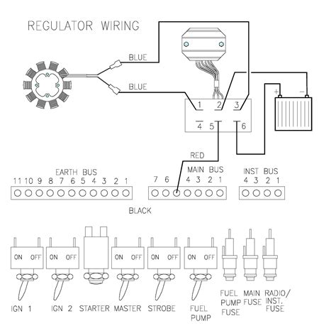 cessna 150 alternator wiring diagram get free image